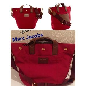 Marc Jacobs Paratrooper Tote red